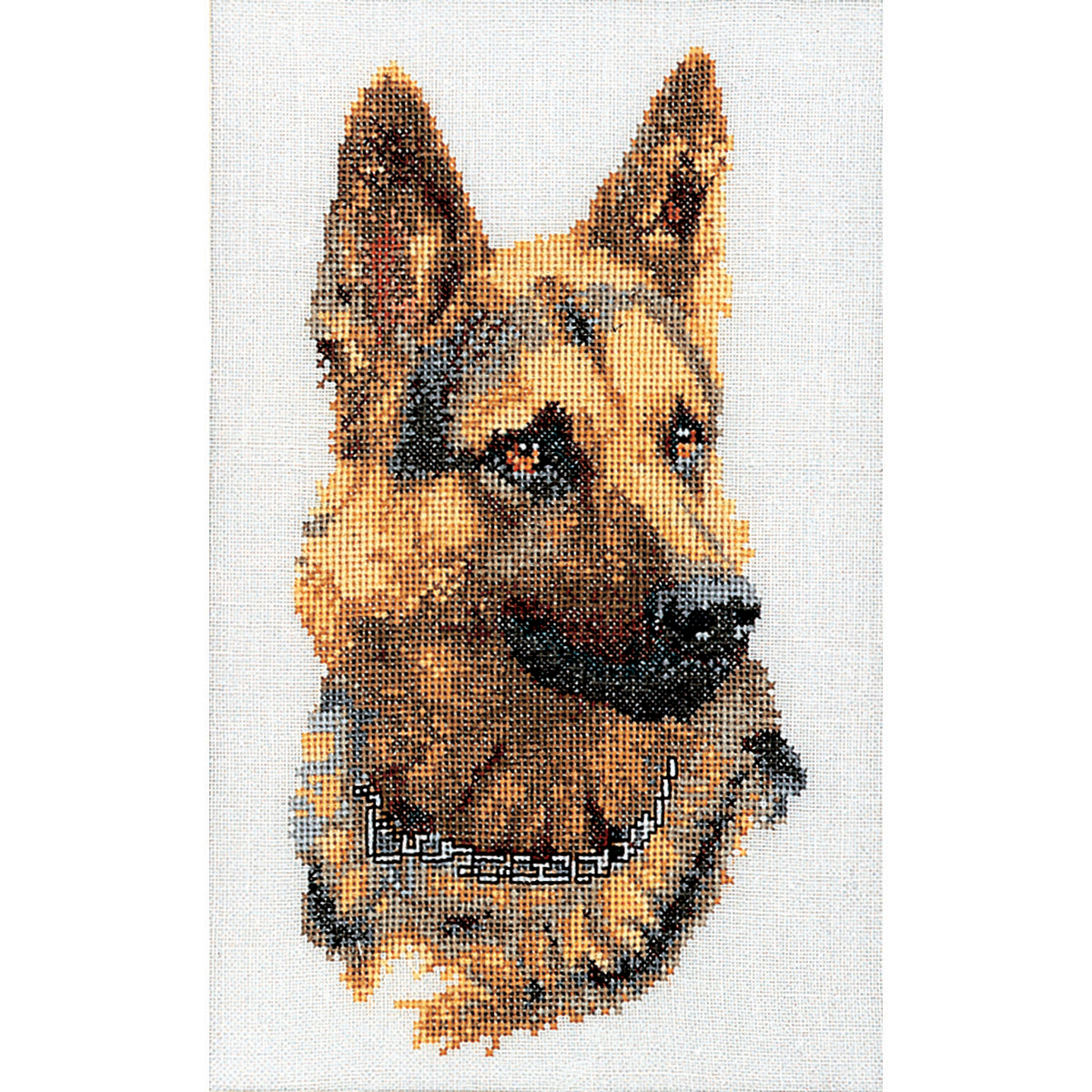 Thea Gouverneur counted-cross-stitch Kit Shepherd's Dog On Linen