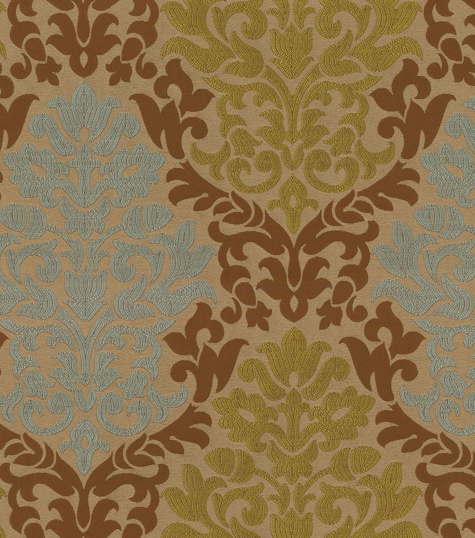Upholstery Fabric- Waverly Romantic Rhyme Chestnut