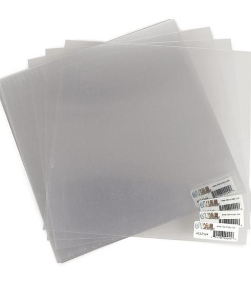 "Clear Scraps 12""x12"" Acrylic Sheets-25PK"