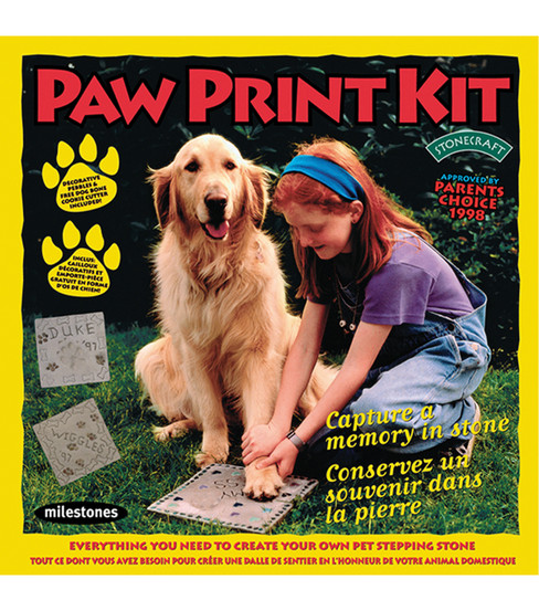 Milestones Kits Paw Print