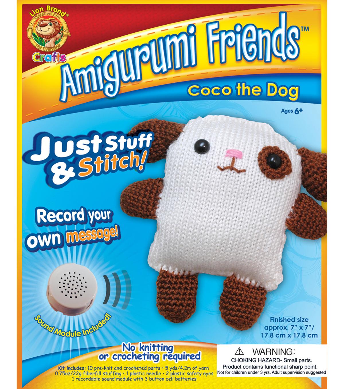 Amigurumi Friends Kit-Coco The Dog