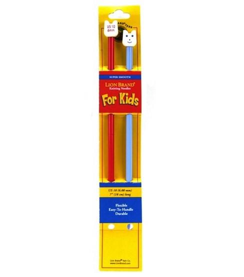 """Lion Brand 10"""" Knitting Needles for Kids"""