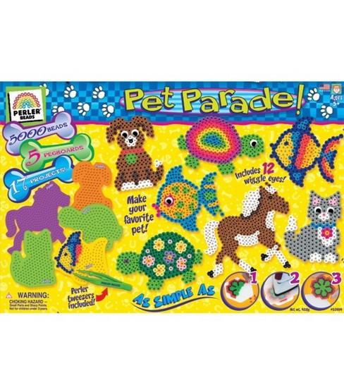 Creative Kid Bead Activity Kit-Pet Parade