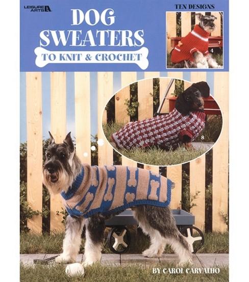 Leisure Arts-Dog Sweaters