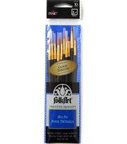 Folkart 10pc Detail Brush Set, , hi-res