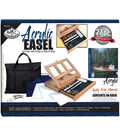 Royal Brush Easel Art Set With Easy To Store Bag-Acrylic