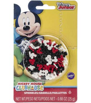 Wilton Disney Junior 0.88 oz. Mickey Mouse Clubhouse Sprinkles