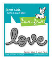 Lawn Fawn Lawn Cuts Custom Craft Die -Scripty Love, , hi-res