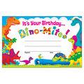 Trend Enterprises Inc. It\u0027s Your Birthday Dino-Mite Pals Awards, 30/Pack