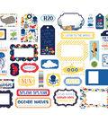 Echo Paper Company Ephemera Die Cut Frames & Tags-Under The Sea