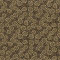 Christmas Cotton Fabric-Pinecones with Metallic