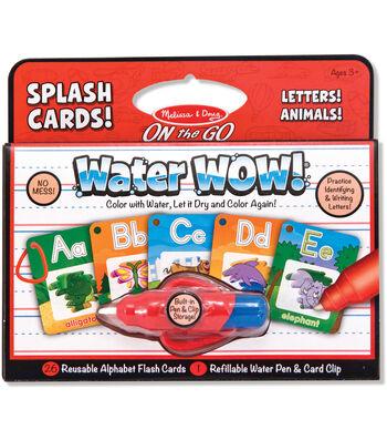 Melissa & Doug On The Go Water Wow! Splash Cards-Alphabet