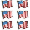 Carson Dellosa Dazzle Stickers Flags 12 Packs