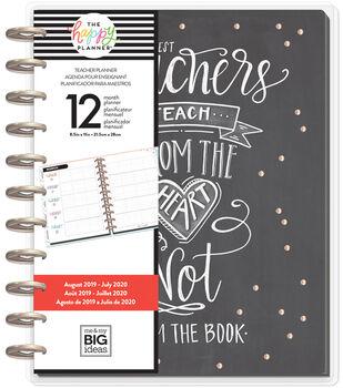 BIG Happy Planner Chalkboard Teacher-12 Months (2019-2020)