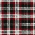 Christmas Cotton Fabric-Holiday Red Black Plaid