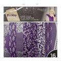 Sara Davies Signature Luxury 6\u0022X6\u0022 Paper Pad 16/Pkg-Floral Fantasy