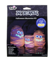 Tulip Jar Decorating Kit-Mummy, , hi-res