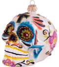 Maker\u0027s Holiday Ornament-Day Of The Dead Skull