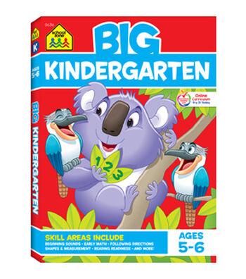 School Zone Big Workbook-Kindergarten