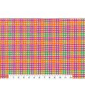 Snuggle Flannel Fabric 42\u0027\u0027-Bright Gingham Plaid