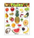 Fruits Learning Chart 17\u0022x22\u0022 6pk