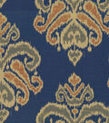 Home Decor 8\u0022x8\u0022 Fabric Swatch-Waverly Focal Point Indigo