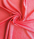 Casa Collection Stretch Knit Fabric -Tango Red