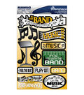 Reminisce Signature Dimensional Stickers Band