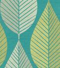 HGTV Home Multi-Purpose Decor Fabric-Looseleaf/Turquioise