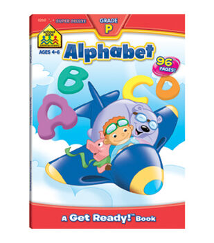 Super Deluxe Workbook-Alphabet