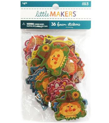 Little Maker's Mixed Foam Stickers-Fall