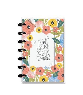 The Happy Planner Happy Notes Mini Notebook-Think Big, Start Small