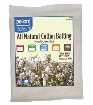 Pellon All Natural Cotton Batting-Twin