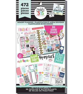 Create 365 Happy Planner Sticker Value Pack-Memory Keeping