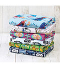 Assorted Licensed Print Fleece Fabric Remnants-10yds