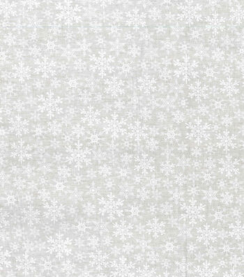 Quilter's Showcase Christmas Cotton Fabric -Tonal Flakes