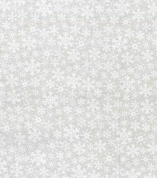 Christmas Cotton Fabric -Tonal Flakes