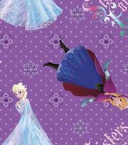 Disney Frozen Cotton Fabric -Sisters, , hi-res