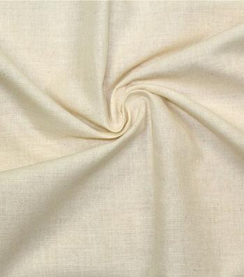 Unbleached Cotton Muslin 120''