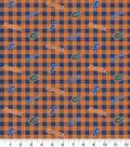 Florida Gators Flannel Fabric-Check
