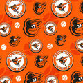 Cooperstown Baltimore Orioles Cotton Fabric