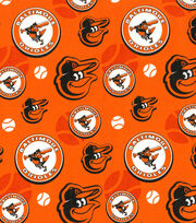 Cooperstown Baltimore Orioles Cotton Fabric, , hi-res