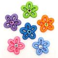 Jesse James Dress It Up Floral Fairy Dust Flower Button Embellishments