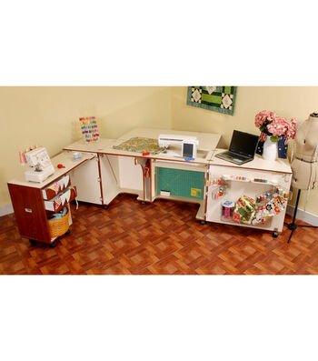 Kangaroo Kabinet Aussie Sewing Cabinet-Teak