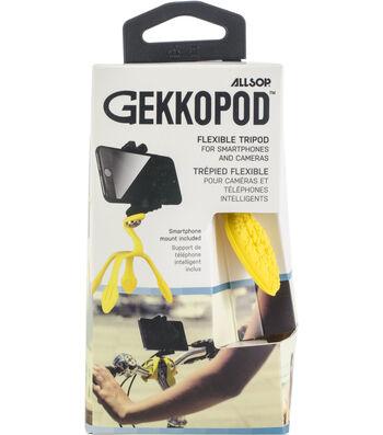 Allsop GekkoPod Flexible Tripod-Yellow
