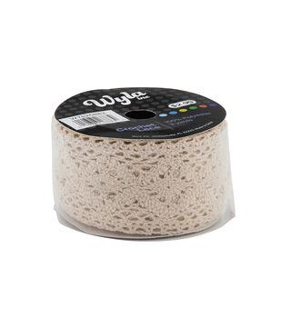 Wyla Crochet Lace-Ivory 500301