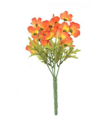 Fresh Picked Spring 13'' Cosmos Bush-Orange