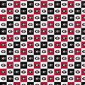 University of Georgia Bulldogs Cotton Fabric-Collegiate Checks