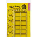 Waffle Flower Crafts Clear Stamps 4\u0027\u0027X6\u0027\u0027-Color Swatches For Watercolors