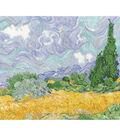 DMC 9\u0027\u0027x11.5\u0027\u0027 Counted Cross Stitch Kit-Wheatfield with Cypresses